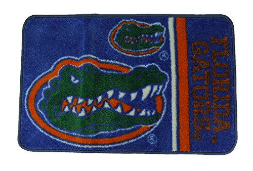 Zeckos Florida Gators Officially Licensed Non-Skid Throw Rug 20 x 30 inch