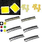 #6: Lights & Lighting - 10 Pcs 2835 Colorful Smd Smt Led Light Lamp Beads For Strip Lights - Chip Diode Surface Mount 5630 Light - Led