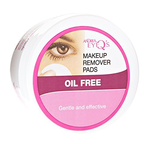 Oil Free Eye Makeup Remover Pads by Andrea