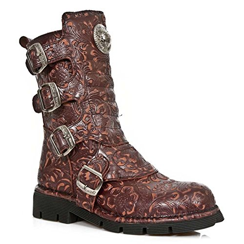Men's S24 New Rock Boots Light M Red 1471 Brown Leather Comfort TCpwxRq