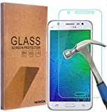 zebra print phone accessories - Samsung Galaxy J7 Screen Protector, NOKEA [Tempered Glass] with [9H Hardness] [Crystal Clear] [Easy Bubble-Free Installation] [Scratch Resist] (for Galaxy J7)