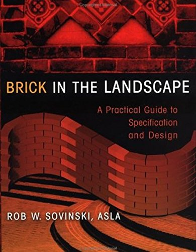 Cheap  Brick in the Landscape: A Practical Guide to Specification and Design (Material..