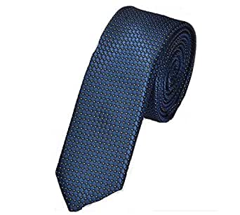 S Plus Neck Ties For Men Blue