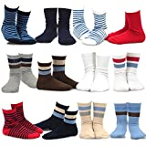 Naartjie Kids Boys Sports Cotton Rib Stripe & Bright 12 Pairs Pack (18-24M)