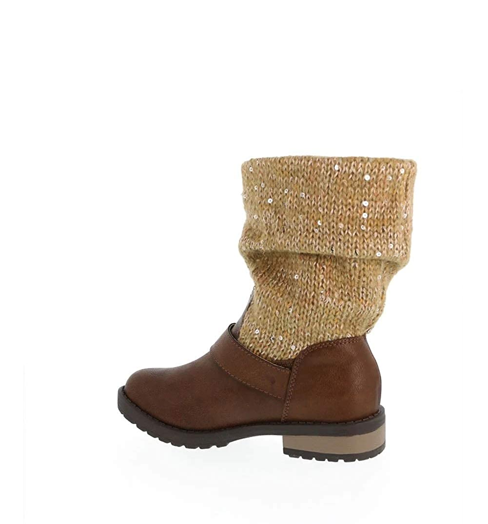 Jessica Simpson Girls Toddler//Youth Summit Brown Boot 2M