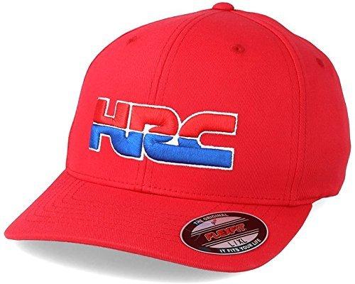 Fox Racing HRC Redplate Pro Flexfit Hat-S/M (Racing Pro Hat)
