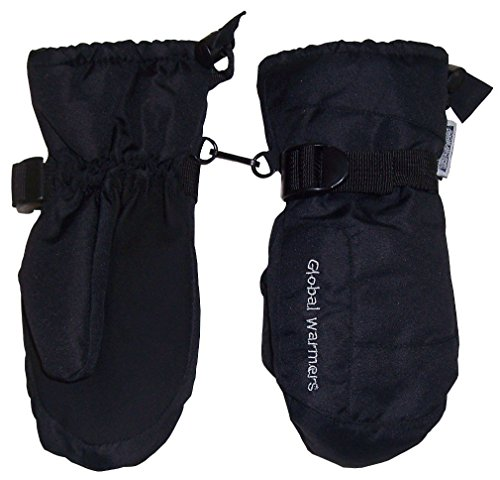NIce Caps Womens Solid And Colorblocked Puffy Waterproof Ski Mittens