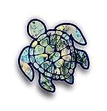 Automotive : Sea Turtle Decal/sticker (green tea)
