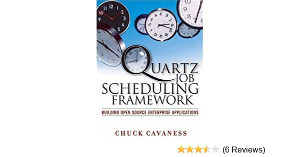quartz job scheduling framework building open source enterprise