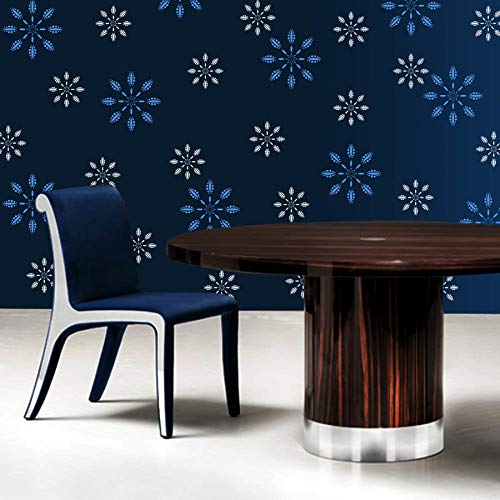 Buy Gallerist Diy Wall Painting Stencil Royal Flower Wall Stencil Design For Living Room 2 Stencils Size 12x12 6x6 Inches Reusable 100 Made In India Online At Low Prices In India Amazon In