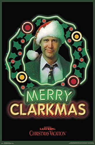Trends International Christmas Vacation - Clark Wall Poster, Multi