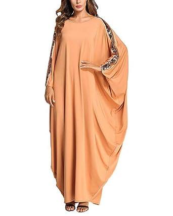 Huateng Bañador musulmán de Mujer con Falda Larga: Amazon.es: Ropa ...