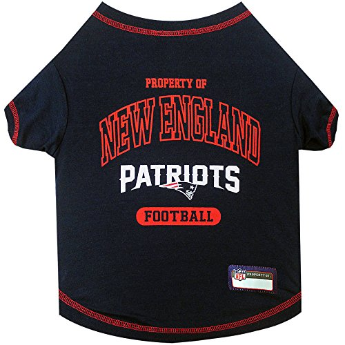 - NFL NEW ENGLAND PATRIOTS Dog T-Shirt, X-Small