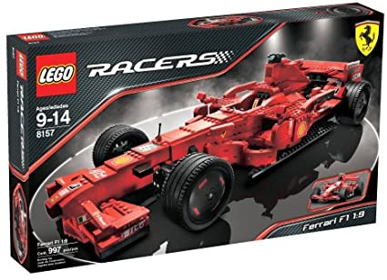 Lego Racers Ferrari F1 1 9 Storage Accessories Amazon Canada