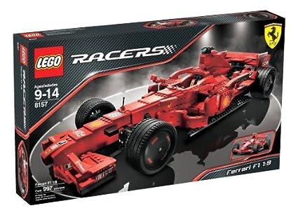 Amazoncom Lego Racers Ferrari F1 19 Toys Games