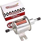 Bravex Inline Fuel Pump 12v Electric Transfer Universal Low Pressure Gas Diesel Fuel Pump 2.5-4 PSI...