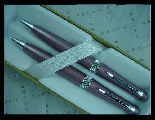 Cross Vienna Ball Pen /& 0.7mm Pencil Gift Set White