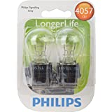 Philips 4057 LongerLife Miniature Bulb, 2 Pack