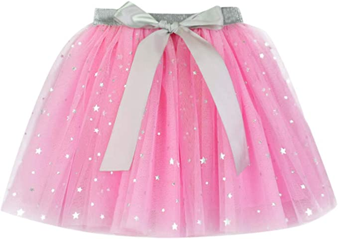 Babydoll de múltiples Capas Faldas Esponjosas Dress para Niñas ...