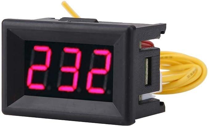 Tarente Display 1pc Digital 0.36 LED □ voltímetro de Voltaje CA medidor de Panel 70-380V