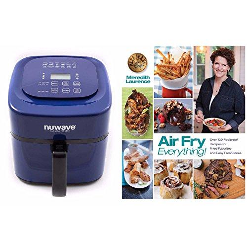 Nuwave 6 qt Brio Air Fryer-Blue with