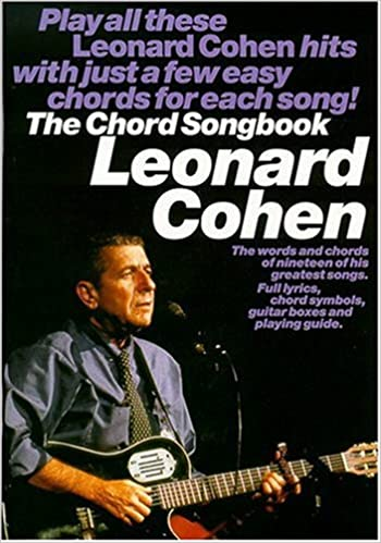 cohen l chord songbook lc