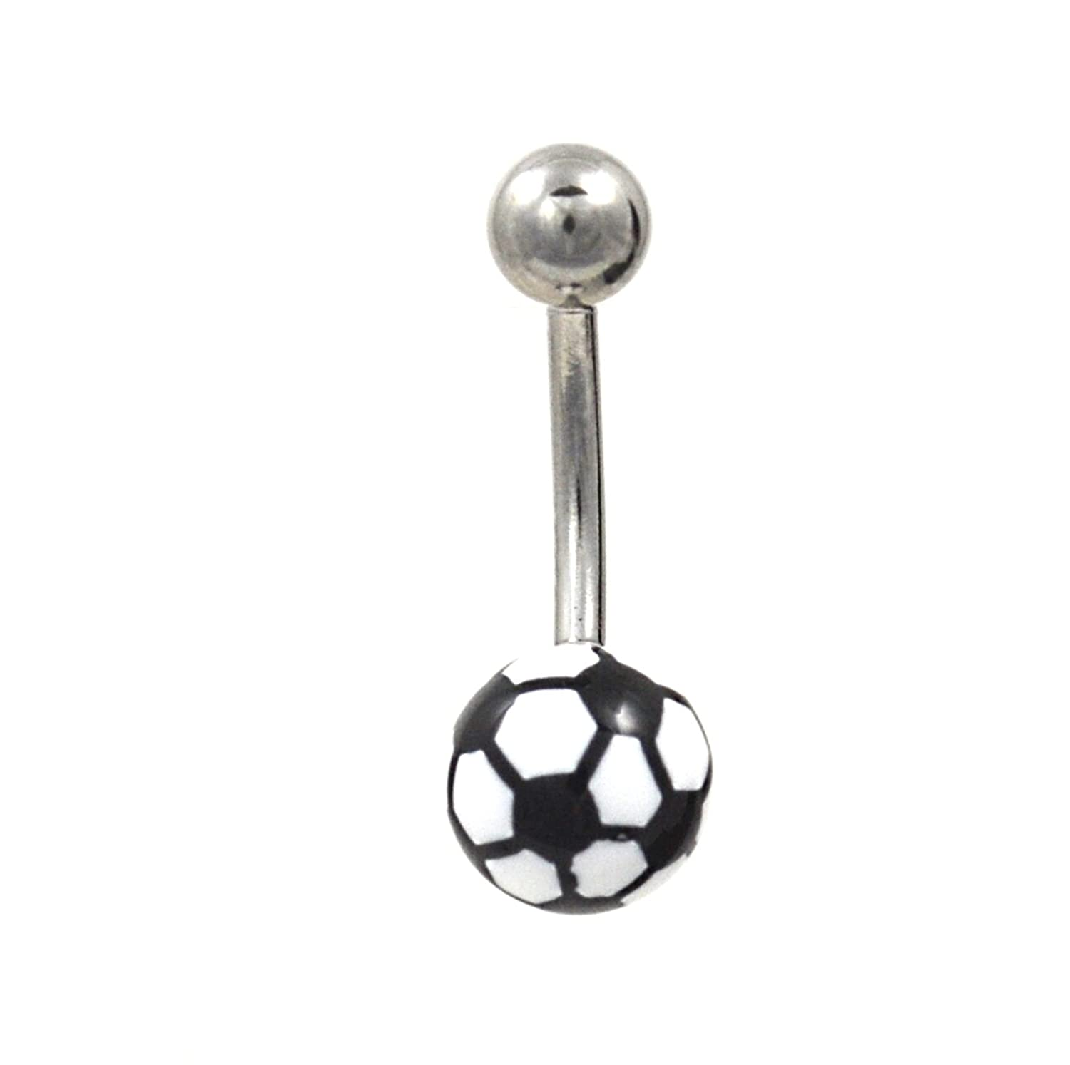 button silvery belly ring fullxfull piercing zoom naval star navel tlth il rings friendship listing