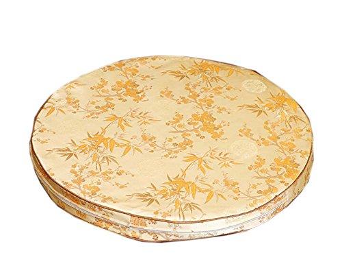 PANDA SUPERSTORE Cushion Office Chair Cushion Antique Classical Pillow Cushions£¬Light Yellow 2