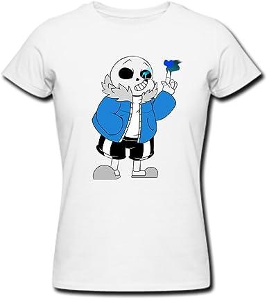 Pirate Zero Pirata cero confortable mujer UNDERTALE Sans T camisas: Amazon.es: Ropa y accesorios