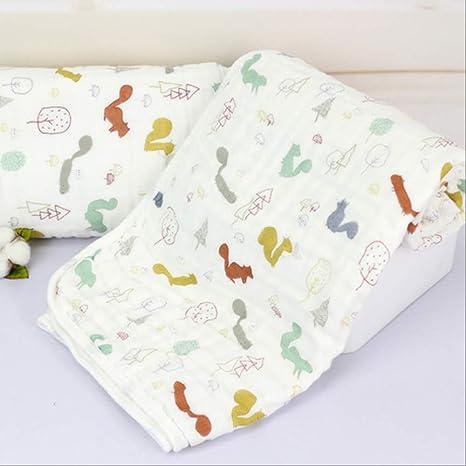 Manta y ropa de cama de crespón Algodón Manta infantil Suave ...