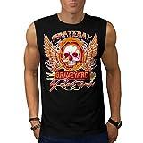 Pirate Bay Grave Yard Lost Souls Men NEW Black S-2XL Sleeveless T-shirt   Wellcoda