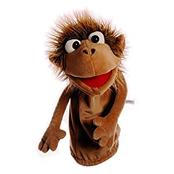 amazon com pinkus the little monkey puppet by living puppets toys