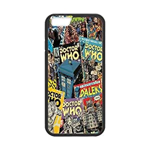 Qxhu Doctor Who patterns Hard Plastic Back Protective case for Iphone6 4.7""