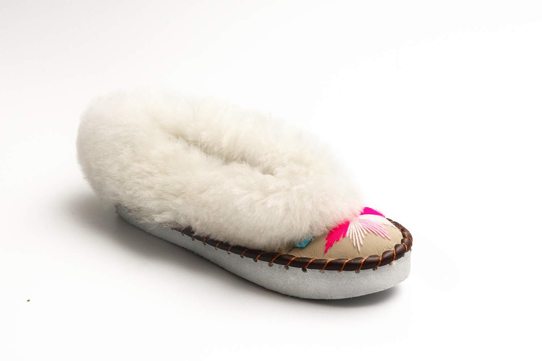 Sen Pink Sheepskin Slippers