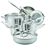 Breville 10 Piece Thermal Pro Clad Cookware Set, Large, Stainless Steel Review and Best Price