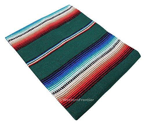 El Paso Designs Serape Style Falsa Blanket. Classic Mexican Style Serape Pattern...