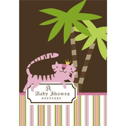 (Queen of the Jungle Baby Shower Keepsake - Girl Baby Shower Ideas Keepsake Book)