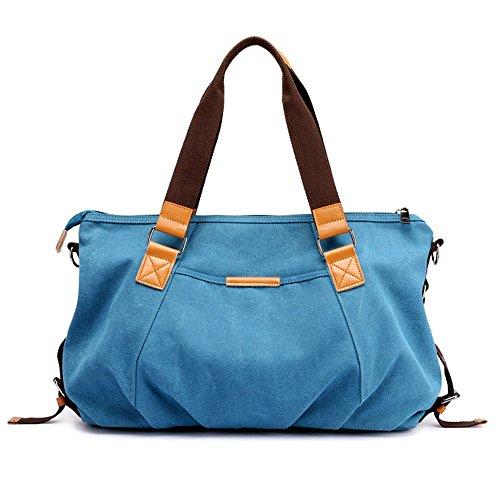 women Tote for Blue Handbag Handle Top Canvas Bag Crossbody Shoulder Bags gtRwwxdq