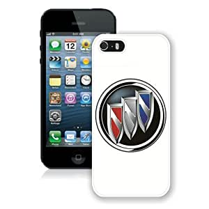 Hot Sale iPhone 5 5S Screen Case ,Buick logo White iPhone 5 5S Cover Unique And Popular Designed Phone Case