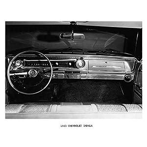 1965 Chevrolet Impala Interior Dashboard Photo Poster