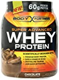 Body Fortress Whey Protein Powder, Chocolate, 31.2 Ounces (Pack of 2) by Body Fortress