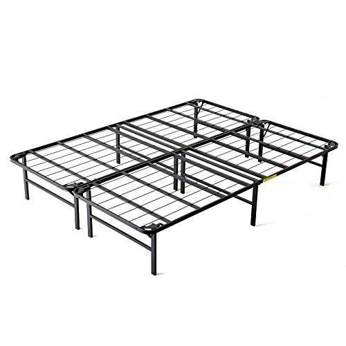 Intellibase Bi-Fold Metal Bed Frame, Queen Overview