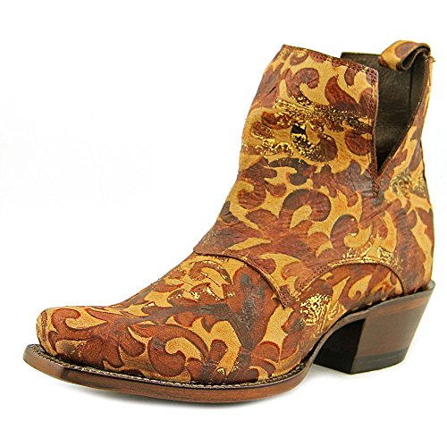 Nocona Dakota Bootie Women US 8 Brown Western (Nocona Leather Jeans)