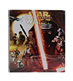Star Wars 1'' O-Ring Vinyl Binder with Pockets ~ The Force Awakens (Episode VII; 10.25'' x 11.3'')