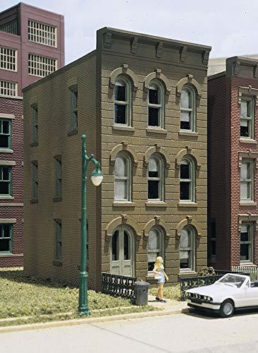 DPM Townhouse #2 Kit HO DPMWOO11000 by Woodland Scenics