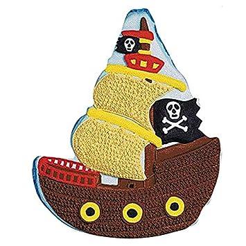 Wilton Kuchenform Piratenschiff Amazon De Kuche Haushalt