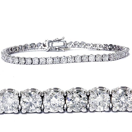7ct Diamond Tennis Bracelet 14