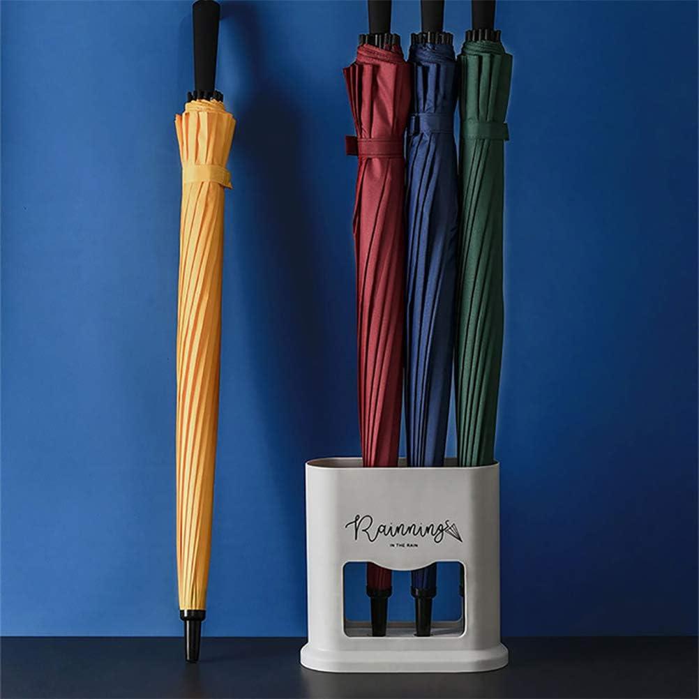 Uyuke Porte-Parapluie Humide /à 4 Fentes Support de Porte-Parapluie en Plastique int/érieur Support Amovible pour /égouttoir deau