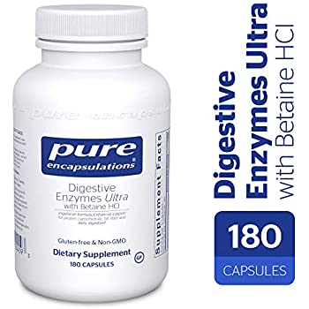 Amazon Com Pure Encapsulations Digestive Enzymes Ultra
