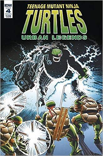 TMNT URBAN LEGENDS #4 CVR B FOSCO LARSEN: Amazon.com: Books
